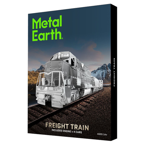 """Freight Train Gift Set"" Metal Model Kit | Metal Earth"