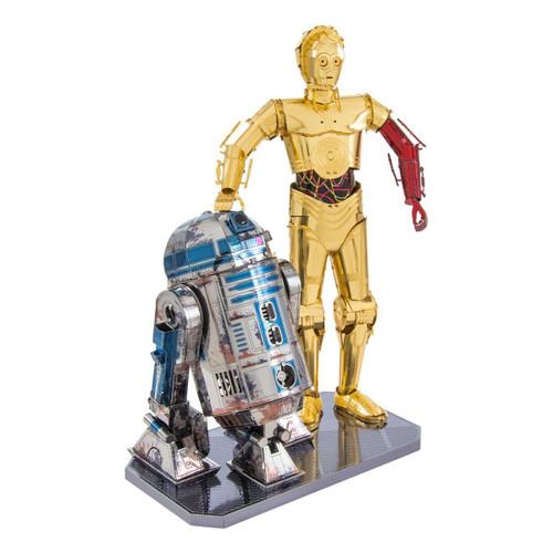 """C-3PO & R2-D2 Star Wars Gift Set"" Metal Model Kit | Metal Earth"