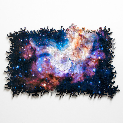 """""""Infinite Galaxy 2"""" Wooden Jigsaw Puzzle 236 Pieces 
