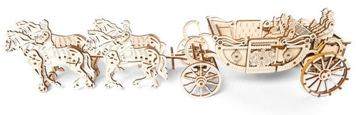 Royal Carriage Mechanical Wooden Model | UGears