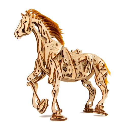 Horse Mechanoid Mechanical Wooden Model | UGears