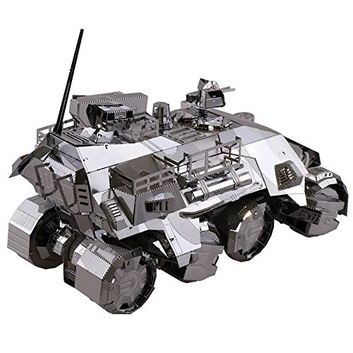 Iron Pioneer Armored Vehicle - DIY Metal Model Kit | MU Model