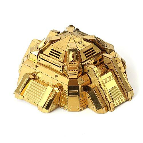 Bunker (Blockhouse) Gold - DIY Metal Model Kit | MU Model