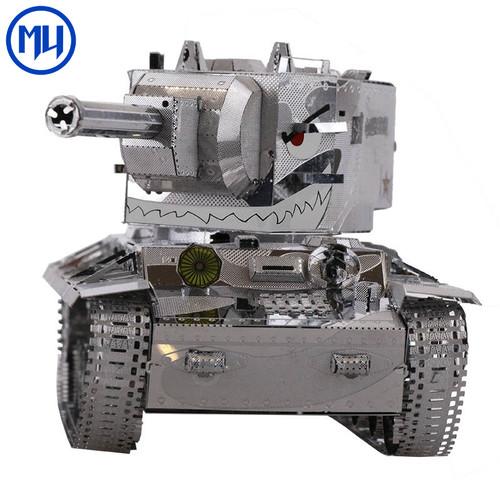 KV-2 Soviet Heavy Tank DIY Metal Model Kit | MU Model