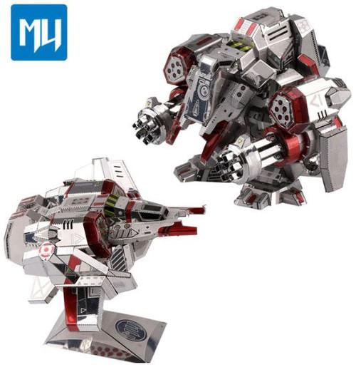 Viking Aircraft & Armour, 2-in-1, - DIY Metal Model Kit | MU Model