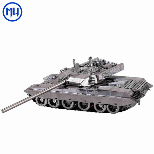 [Large] T99 Chinese Tank With Rotating Turret - Metal Model Kit | MU Model