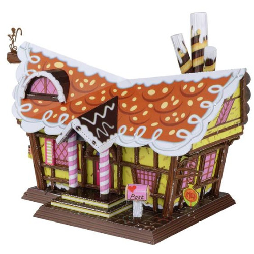 Candy House - DIY Metal Model Kit, By MU