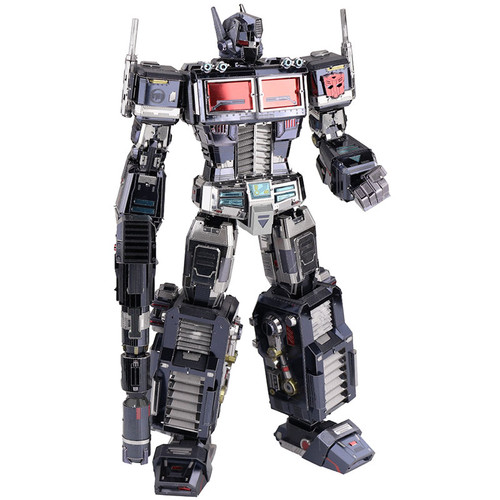 Nemesis Optimus Prime G1 Black - Transformers - Metal Model Kit | MU Model