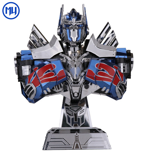 Transformers 5 Optimus Prime Bust - DIY Metal Model Kit | MU Model