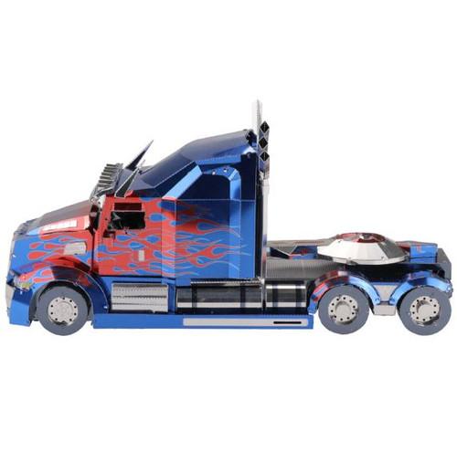 Transformers *BIG* Western Star Optimus Prime Truck Metal Model Kit | MU Model