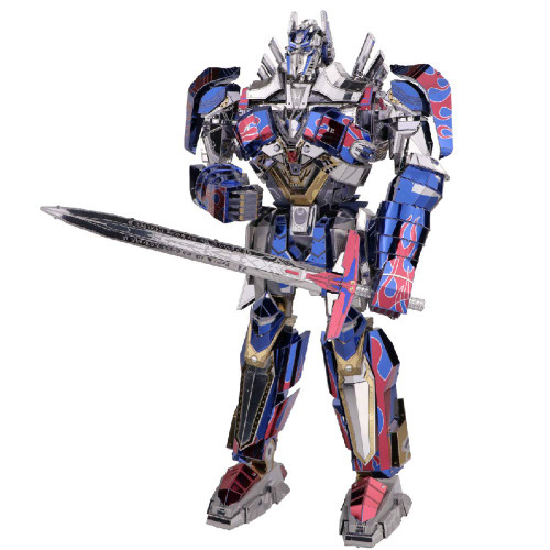 Optimus Prime - Transformers 5 The Last Knight - DIY Metal Model Kit | MU Model