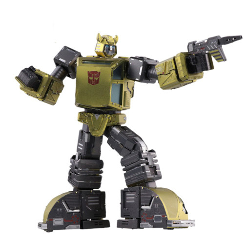 Transformers G1 Bumblebee - DIY Metal Model Kit | MU Model
