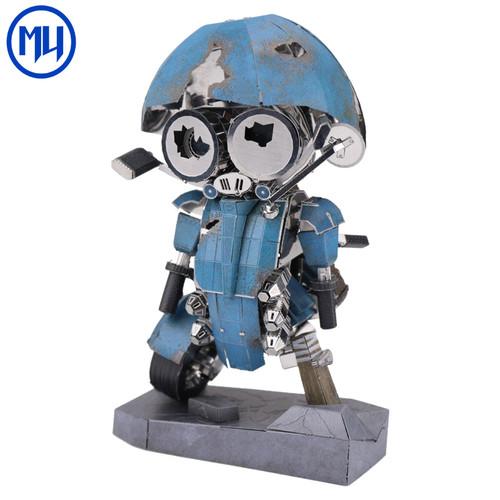 Transformers 5 Sqweeks - DIY Metal Model Kit | MU Model