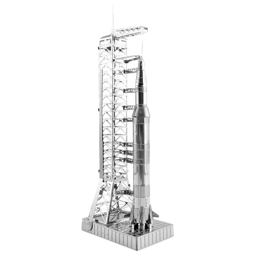 Apollo Saturn V With Gantry Metal Earth Model