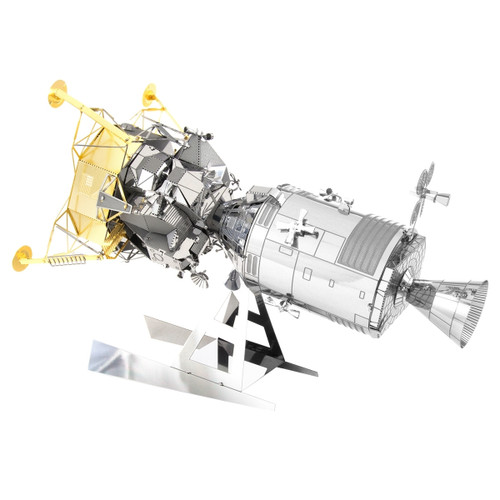 Apollo CSM Command Service Module With Lunar Module Metal Earth Model