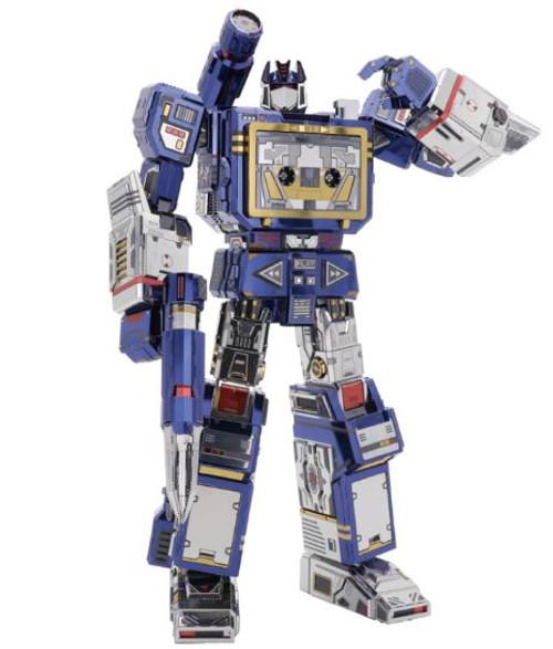 Soundwave G1 - Transformers DIY Metal Model Kit   MU Model