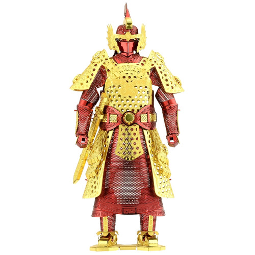Chinese (Ming) Armor Metal Earth Model