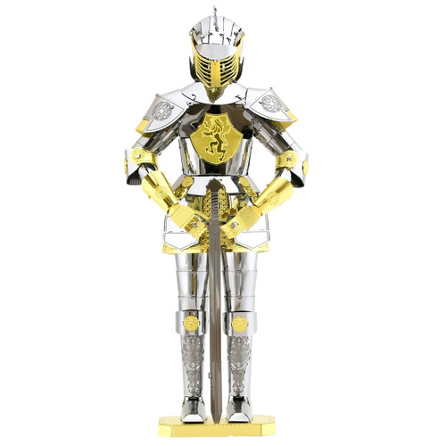European (Knight) Armor Metal Earth Model