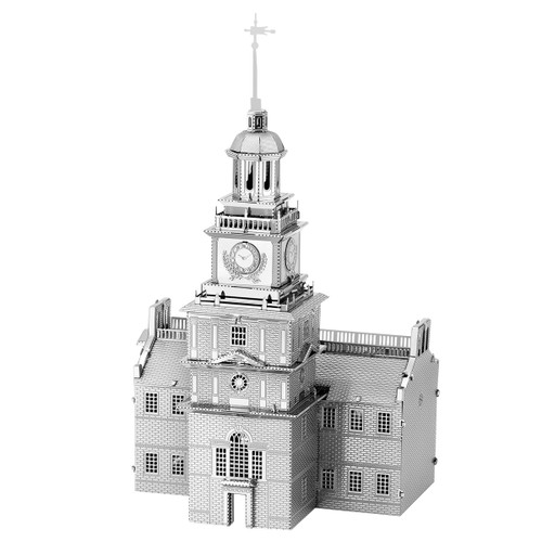 Independence Hall Metal Earth Model