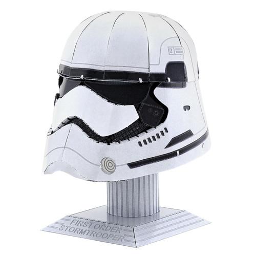 First Order Stormtrooper Helmet - Star Wars - | Metal Earth Model