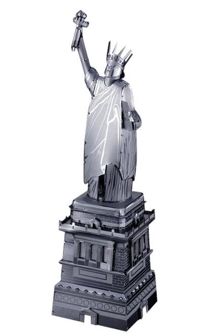 Statue of Liberty, Silver - DIY Metal Model Kit | Microworld