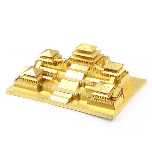 Emporer of Qin Epang Palace, Gold - Metal Model Kit | Microworld