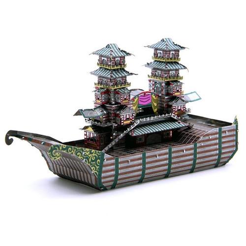 Yangzhou Boat - Metal Model Kit | Microworld