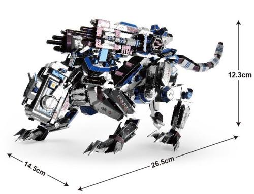 Mechanical Police Dog - Zoids - Metal Model Kit | Microworld