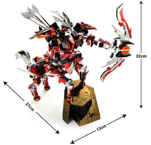 Centaur Warrior - Zoids - Metal Model Kit | Microworld