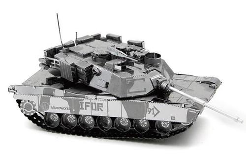 M1 Abrams Tank Metal Model Kit | Microworld