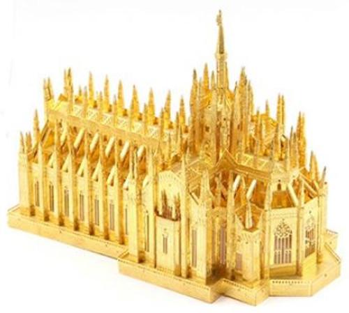 """""""Duomo di Milano"""" Milan Cathedral *Gold* Metal Model Kit   Microworld"""