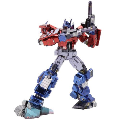 Optimus Prime IDW Version - Transformers DIY Metal Model Kit   MU Model