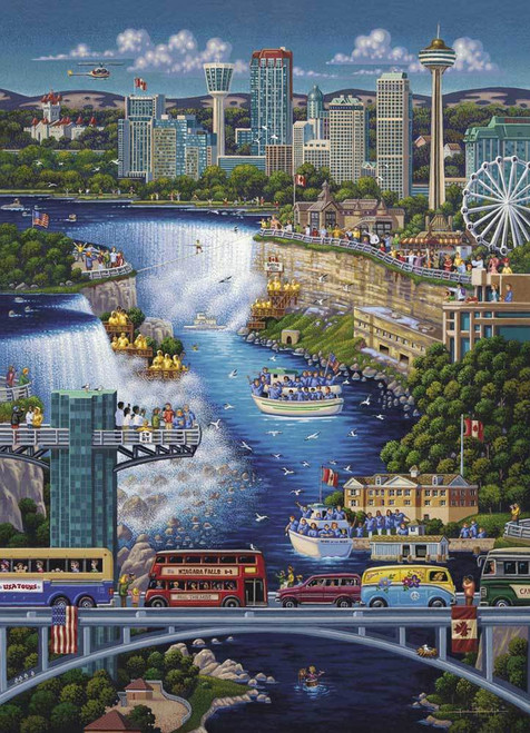 Niagara Falls 1000 Piece Jigsaw Puzzle | Dowdle