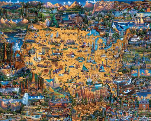 National Parks 100 Piece Jigsaw Puzzle | Dowdle
