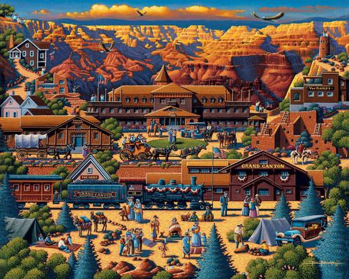 Grand Canyon 500 Piece Jigsaw Puzzle | Dowdle