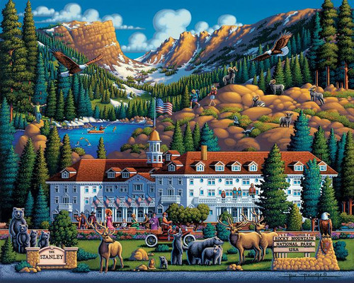 """Rocky Mountain National Park"" 500 Piece Jigsaw Puzzle | Dowdle"