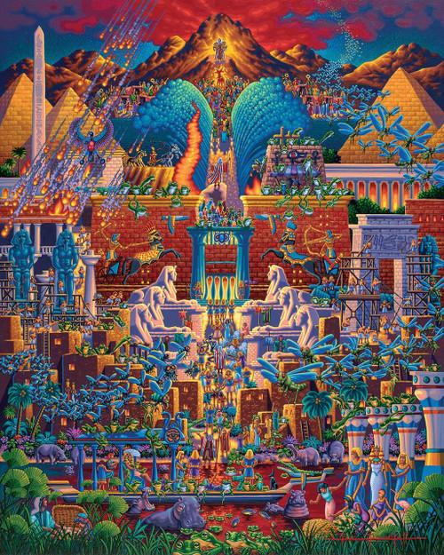 Exodus 1000 Piece Jigsaw Puzzle | Dowdle