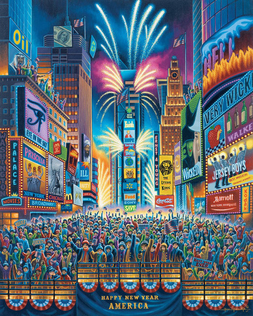 Times Square 1000 Piece Jigsaw Puzzle | Dowdle