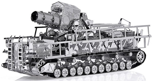 German Railway Gun - Schwerer Gustav - Metal Model Kit | Piececool