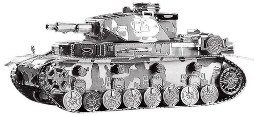 German Panzer IV Tank Metal Model Kit | Piececool