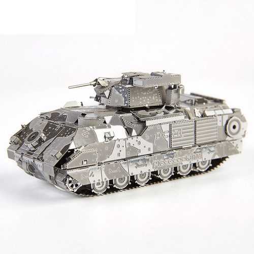 M2A2 Bradley IFV Tank Metal Model Kit | Piececool