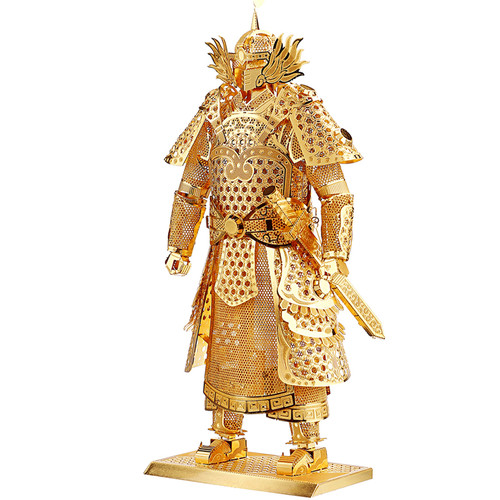 """Warrior's Armor"" Gold Metal Model Kit 