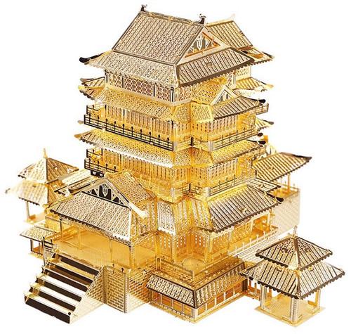 Prince Teng Wang / Tengwang Pavilion Metal Model Kit | Piececool