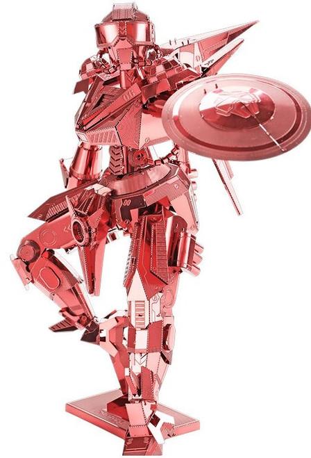 Shield Man Red Knight Metal Model Kit | Piececool