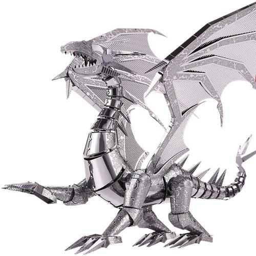 Silver Dragon Metal Model Kit | Piececool