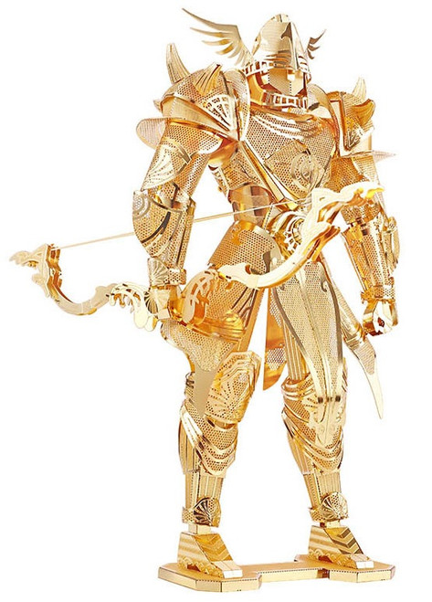 Knight of Firmament Gold Metal Model Kit | Piececool