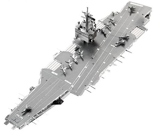 USS Enterprise CVN-65 Aircraft Carrier Metal Model Kit | Piececool