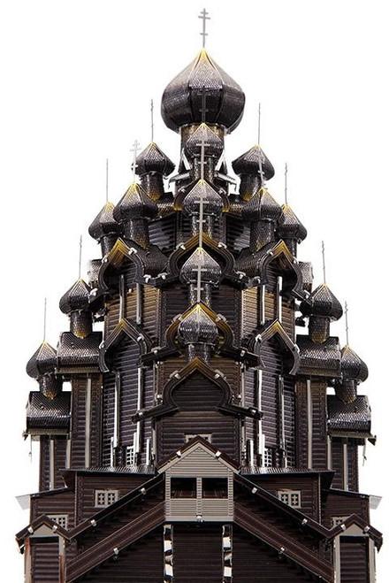 Kizhi Pogost, Church of the Transfiguration Metal Model Kit | Piececool
