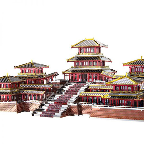 Epang Palace Metal Model Kit | Piececool