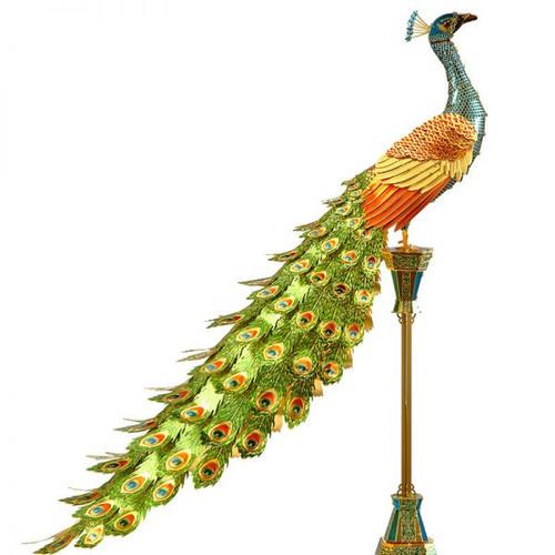 Colorful Peacock Metal Model Kit | Piececool